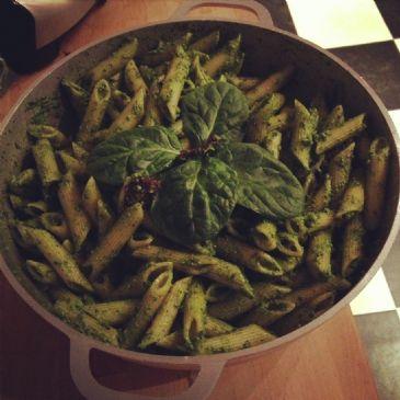 Vegan Spinach Pesto Sauce
