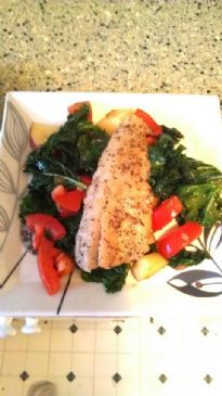 Buttered and Peppered Pollock