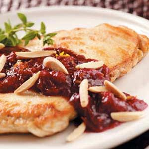 Almond Cranberry Chicken (tasteofhome.com)