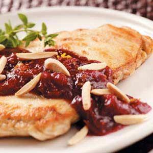 Almond Cranberry Chicken (tasteofhome.com)