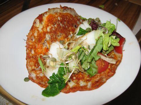 Mozzarella and Fish Taco