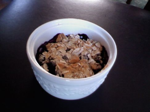 Wendy's Blueberry Protein Crumble