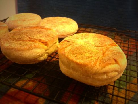 Gary's Bread Machine Wheat English Muffins