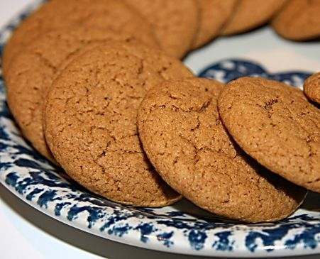 Old Fashioned Ginger Molasses Cookies