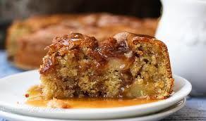 5 minute apple cake