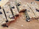 Coconut Cherry Granola Bars, Grain Free