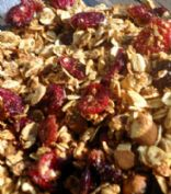 Cranberry Citrus Hemp Granola