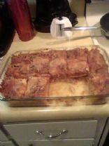 Tonya's Marinara Lasagna with Smoked Sausage & Baby Bella Mushrooms
