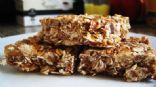 Chocolate Coconut Pineapple Crunchy Granola Bars