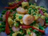 LPW's Festive Shrimp & Yellow Rice