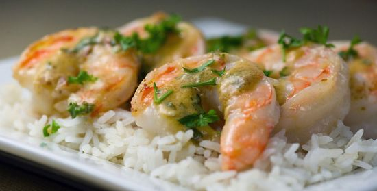 Country Dijon Shrimp Saute