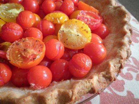 Parmesan-Tomato Tart