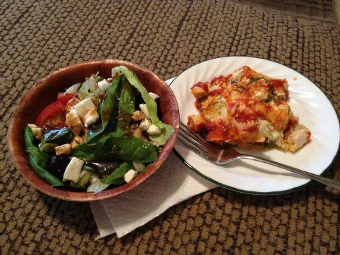 Chicken & Spinach Lasagne