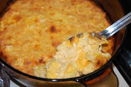 True Southern Baked Macaroni Cheese (Macaroni Pie)