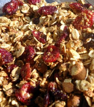Cranberry Citrus Hemp Granola