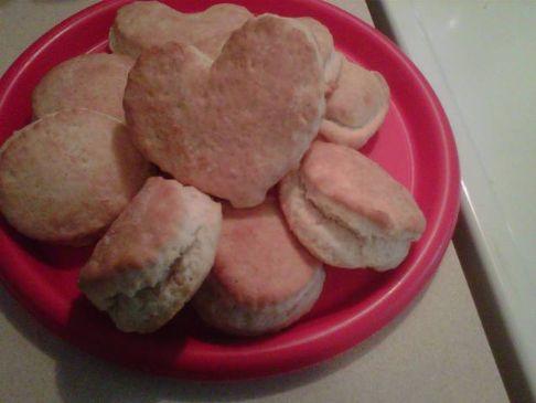 Easy Bisquits (white Flour)