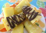 Orange Pineapple Popsicles