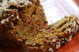 fANNEtastic food's Fresh Cranberry Walnut Pumpkin Loaf (with walnuts)
