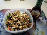 Paula's Home-made Berry Almond Chicken Salad with Raspberry Vinaigrette