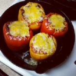 Meatless Stuffed Peppers