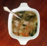 Reduced Sodium Italian Wedding Soup