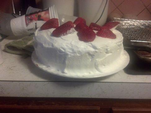 tres leche cake 1/12 serving