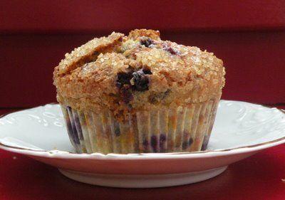 Gluten Free, Dairy/Lactose Free Jordan Marsh Blueberry Muffins
