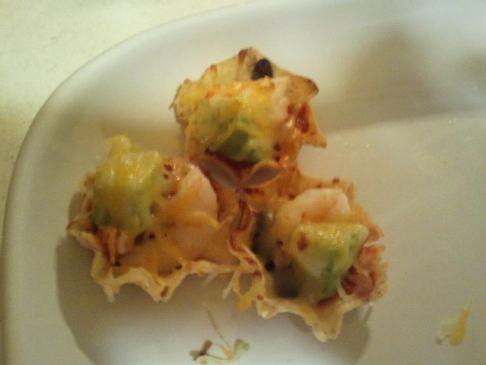 Shrimp Nacho Bites