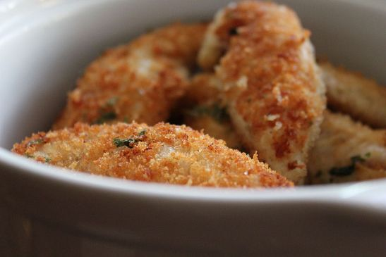 Parmesan-Crusted Turkey Tenders