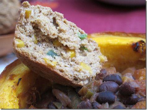 Jalapeno Cornbread Muffins (Vegan and Gluten-Free)