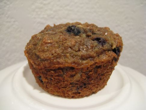 Bran Apple Blueberry Muffins, HEALTHY AND TASTY!!