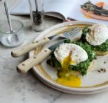 spinach egg english muffin