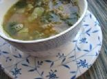 Lentil Soup with Chard and Lemon