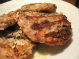 Garlic Turkey Burgers