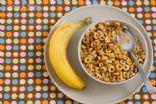Multi-Grain Cheerios with Banana