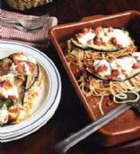 Baked Spaghetti with Eggplant & Bocconcini