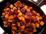 Beet & Sweet Potato Hash