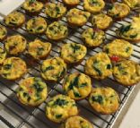 Mini Crustless Quiche Cups