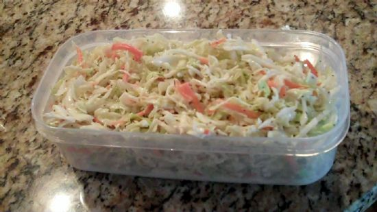Dinah's Low Carb Coleslaw