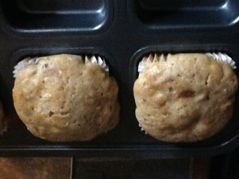 Fruit and Coco-nutty Muffins