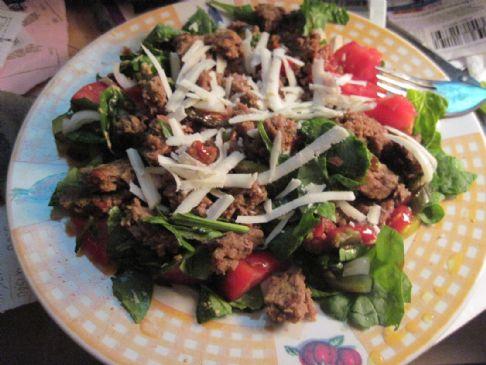 High Protein & Fiber Moophrey Salad