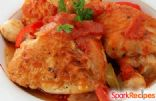 Chicken Breasts with Red Wine Sauce