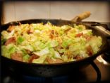 Sausage & Cabbage