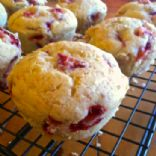 Lemon Strawberry Muffins