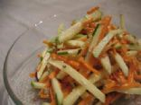Sweet and Light Carrot & Apple Salad