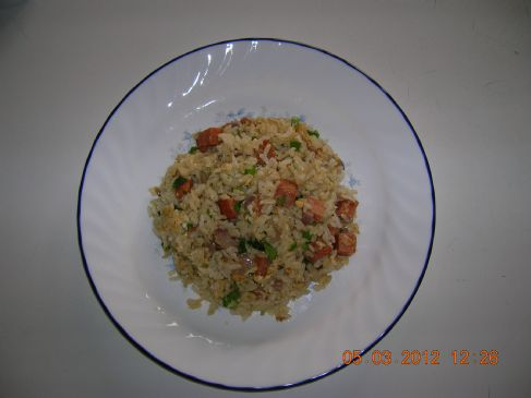 Spicy Spam Fried Rice
