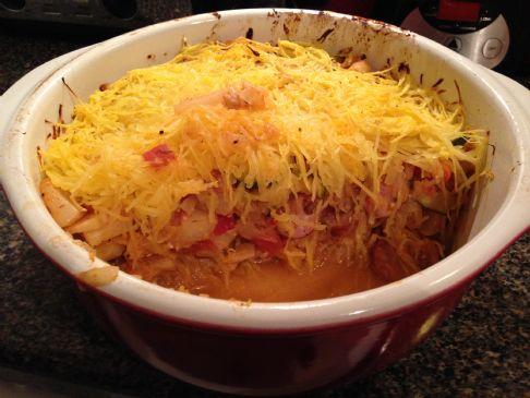 Spaghetti (Squash) Casserole