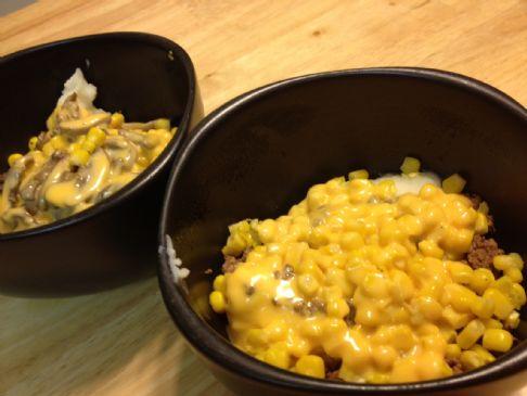 Beefy Mashed Potato Bowl
