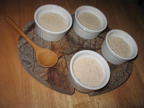 Chai Tapioca Pudding