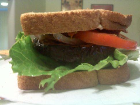 Egg Plant Sandwich